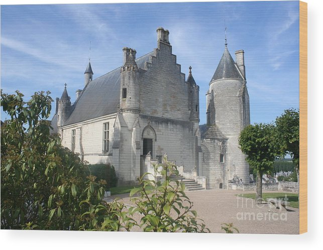 Castle Wood Print featuring the photograph Castle Loches - France by Christiane Schulze Art And Photography