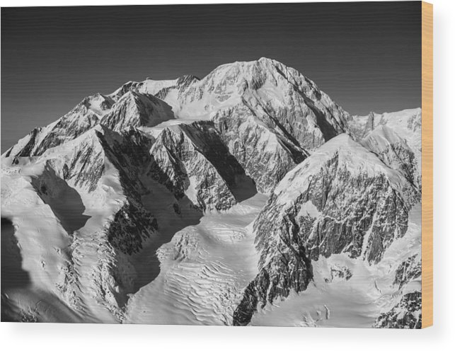 Denali Wood Print featuring the photograph Denali - Mount Mckinley by Alasdair Turner