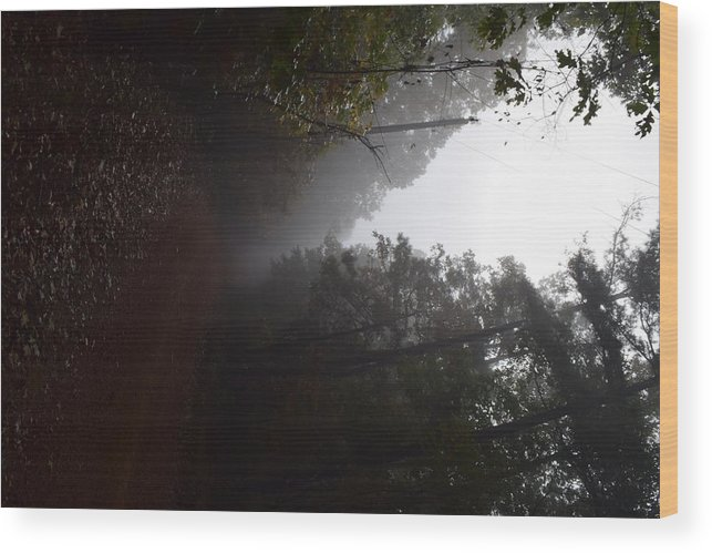 Roads Wood Print featuring the photograph Roads14 by Lawrence Hess