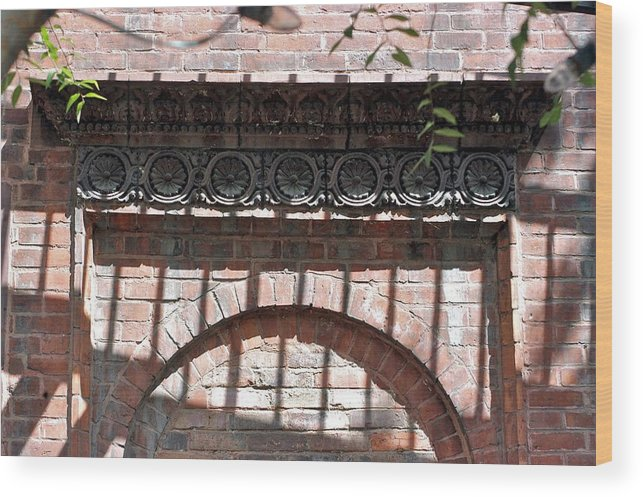 Brickwork Wood Print featuring the photograph Side Street by Joseph Yarbrough
