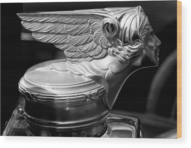 1928 Buick Model 58 Coupe Wood Print featuring the photograph 1928 Buick Model 58 Coupe by David Patterson