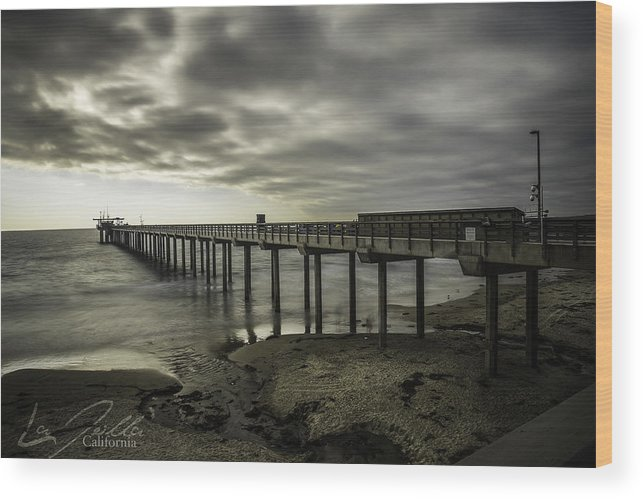 San Diego Wood Print featuring the photograph A Relaxing Afternoon by Israel Marino