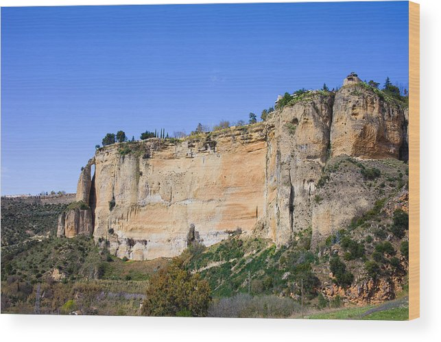 Andalucia Wood Print featuring the photograph Andalusia Landscape In Spain by Artur Bogacki