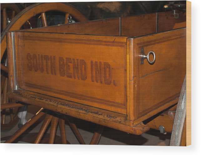 Studebaker Wood Print featuring the photograph Studebaker Centennial Wagon by Craig Hosterman