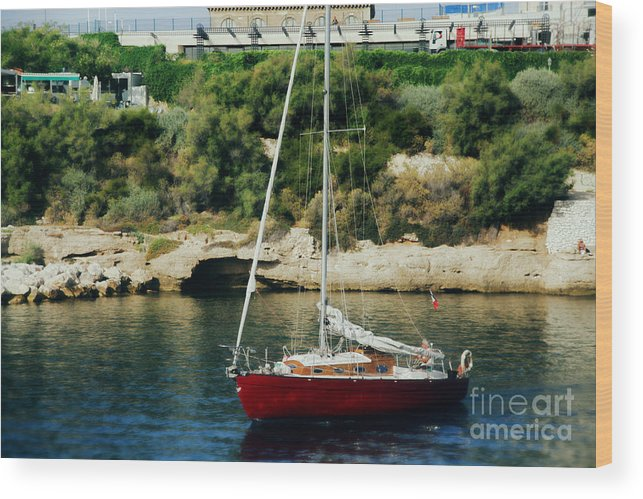 Marseille Wood Print featuring the photograph Marseille by Rafael Pacheco