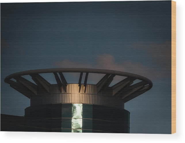 Tower Wood Print featuring the photograph Tower by Tinjoe Mbugus