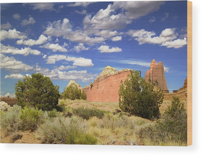 Capitol Reef National Park Wood Print featuring the photograph Capitol Reef National Park by Mark Smith