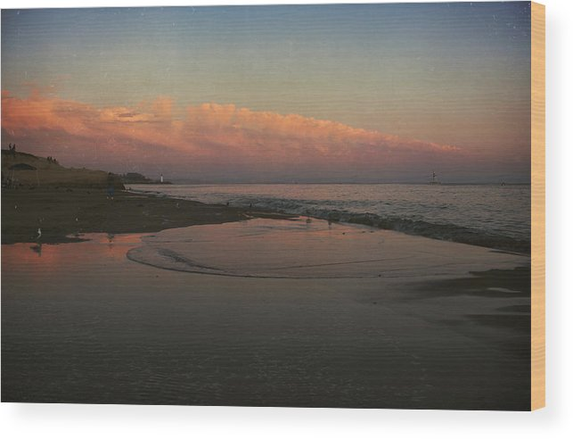 Santa Cruz Wood Print featuring the photograph A Little Bit Of Peace by Laurie Search