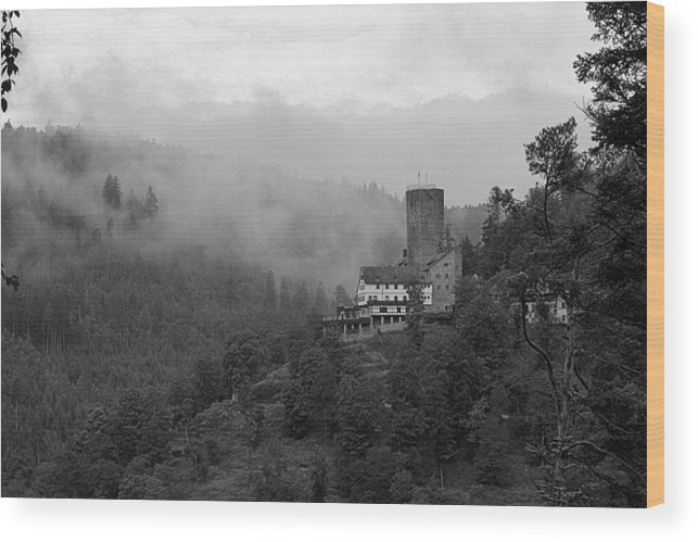 Castle Wood Print featuring the photograph A Mighty Fortress by Martin Michael Pflaum