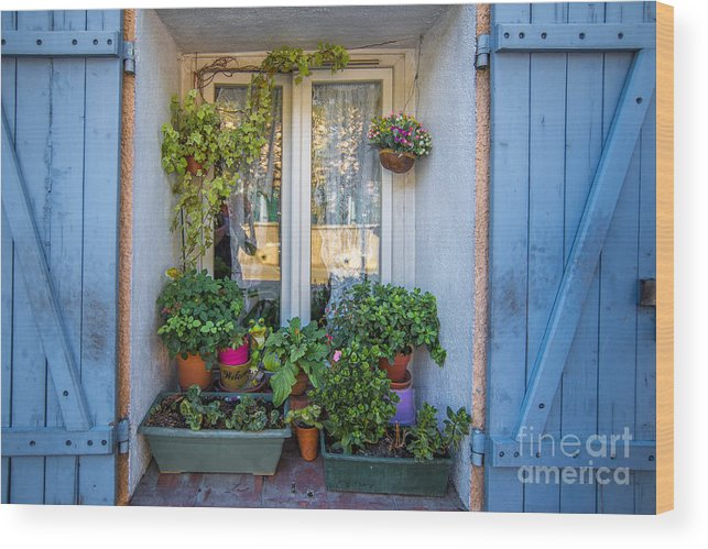 Window Wood Print featuring the photograph A Place For Us by Judith Barr