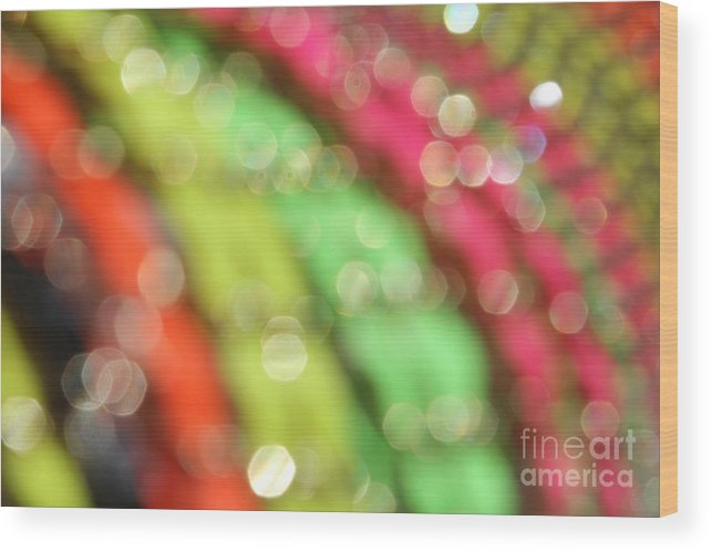 Abstract Wood Print featuring the photograph Abstract 11 by Tony Cordoza