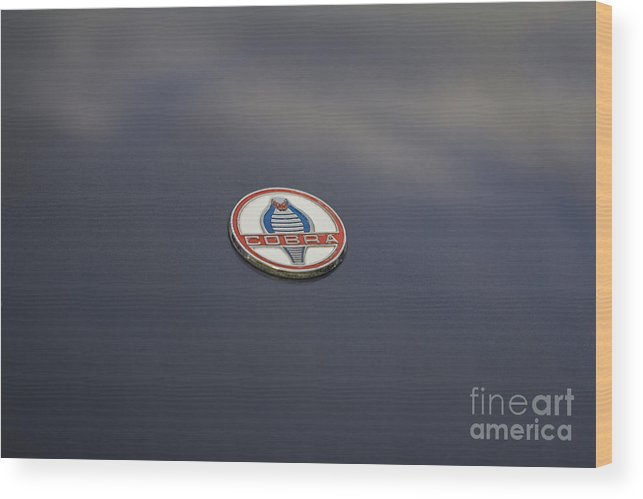 Car Wood Print featuring the photograph Ac Cobra by Clare Bambers