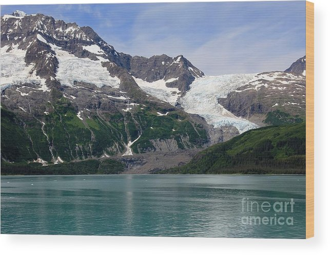 Alaska Wood Print featuring the photograph Alaskan Beauty by Sophie Vigneault