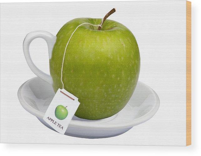 Apple Wood Print featuring the photograph Apple Tea by Dirk Ercken