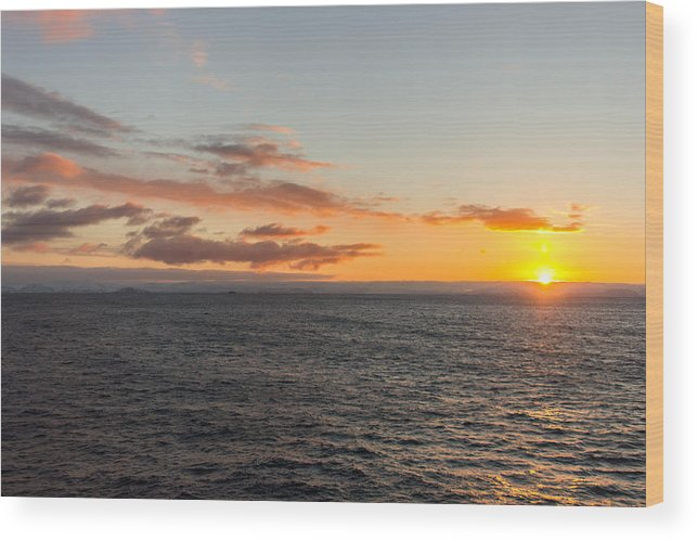 Sunrise Wood Print featuring the photograph Arctic Daybreak by Christopher Sinclair