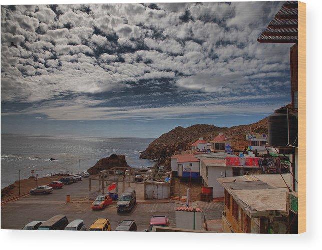 Mexico Wood Print featuring the photograph Baja Mexico by Joe Fernandez