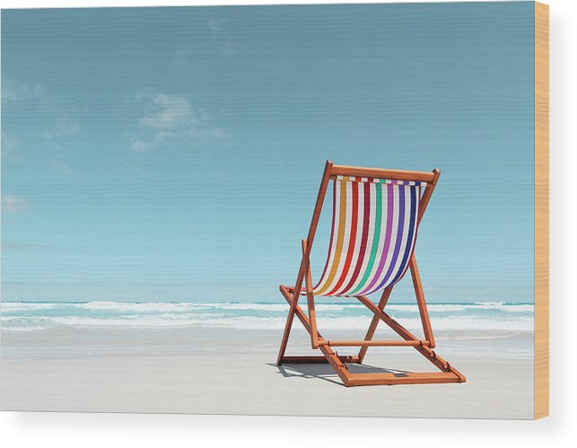 Prime Beach Chair With Rainbow Stripes Wood Print Caraccident5 Cool Chair Designs And Ideas Caraccident5Info
