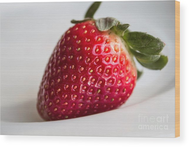 Chef Wood Print featuring the photograph Berry Perfect by Arlene Carmel