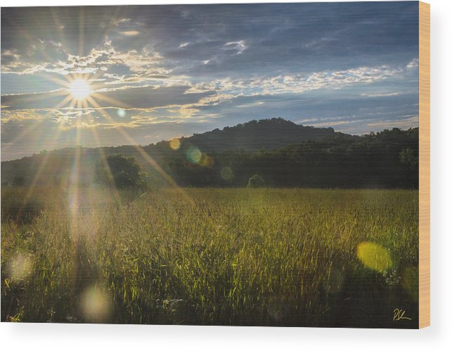 Big Round Top Wood Print featuring the photograph Big Round Top by Pat Scanlon