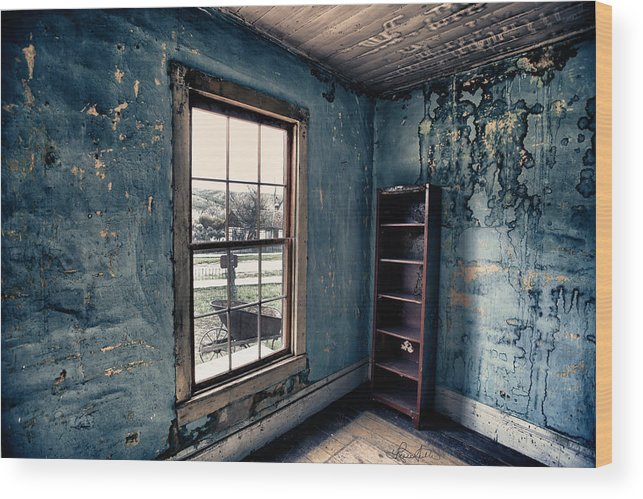 Bannack Wood Print featuring the photograph Boo's Room by Renee Sullivan