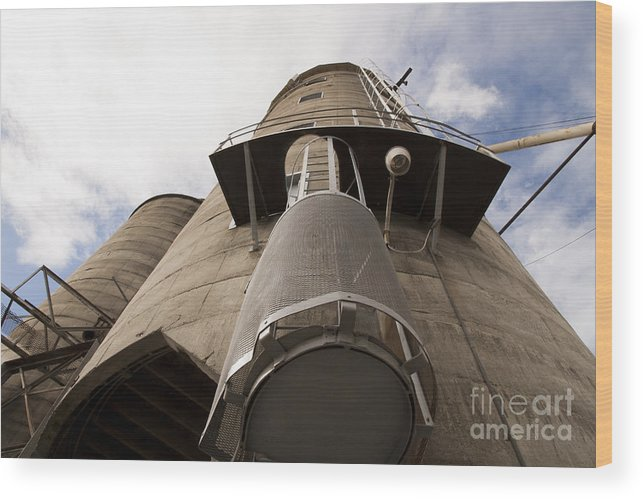 Brutal Wood Print featuring the photograph Brutal Architecture by Juan Romagosa