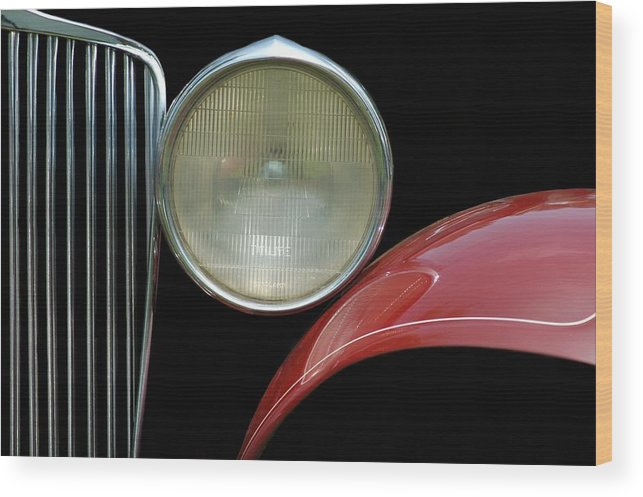 Car Wood Print featuring the photograph Car Parts by Dan Holm
