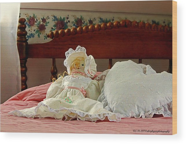 Stuffed Toy Wood Print featuring the photograph Childhood Memories by Catherine Melvin