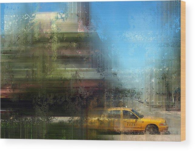 Usa Wood Print featuring the photograph City-art Miami Beach by Melanie Viola