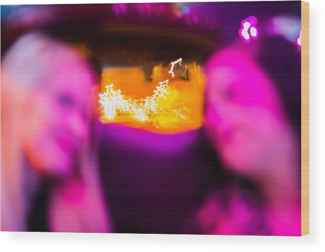 Oklahoma Wood Print featuring the photograph Clarie And Giggles In The Limo by Nathan Hillis