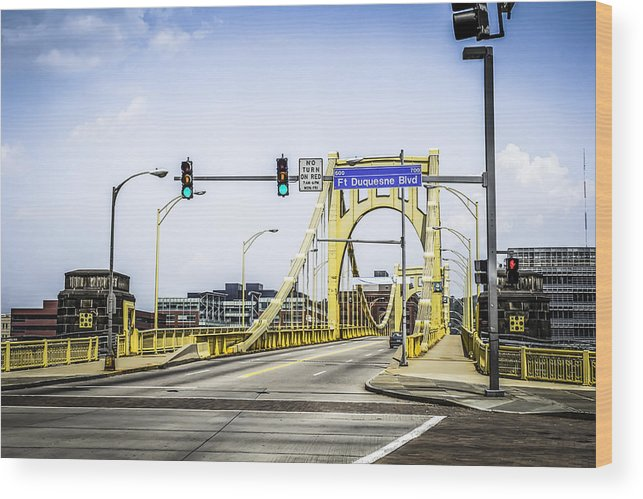 Robert Wood Print featuring the photograph Clement Bridge by Chris Smith