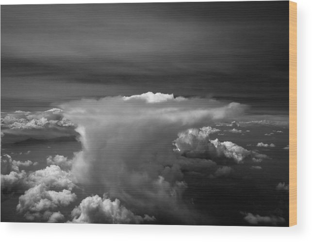Colorado Wood Print featuring the photograph Colorado Anvil by John Daly