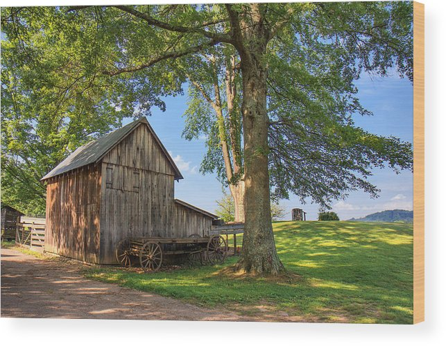 Jackson's Mill Wood Print featuring the photograph Country Farm by Mary Almond