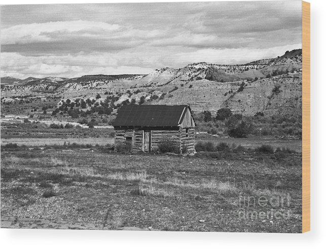 Utah Wood Print featuring the photograph Courage by Kathy McClure