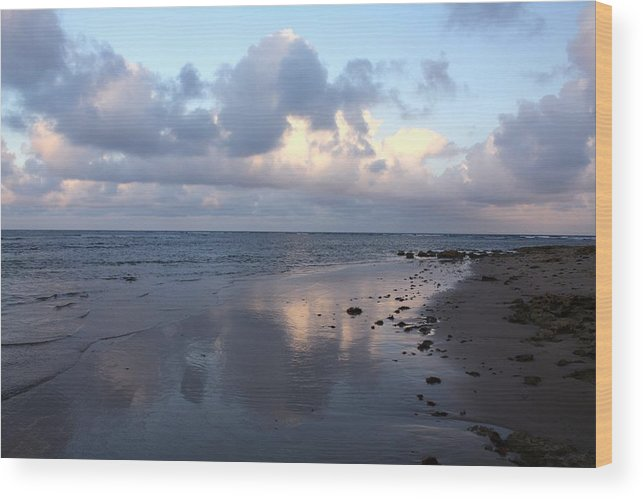 Cloud Reflections Wood Print featuring the photograph Days Of Heaven by Amanda Holmes Tzafrir