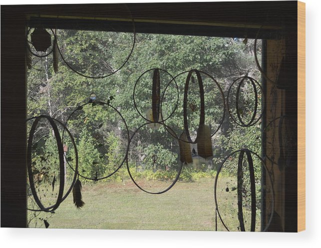 Dreamcatcher Wood Print featuring the photograph Dreamcatchers by Thomas Phillips