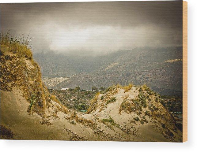 Greece Wood Print featuring the photograph Elafonisi View by Oleg Koryagin