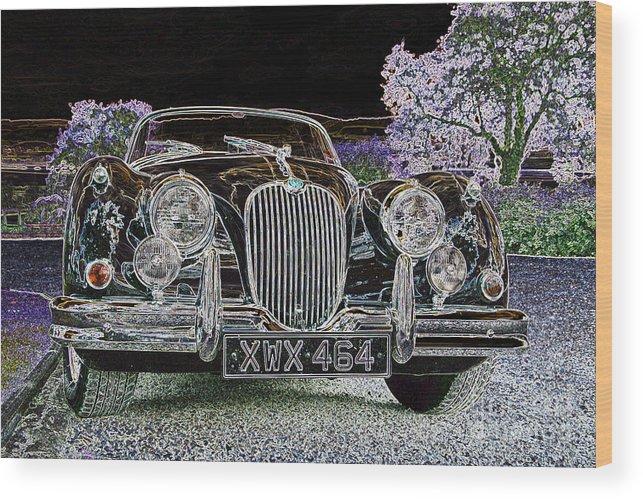 Car Wood Print featuring the photograph Fantasy Dream Car by Rosemary Calvert