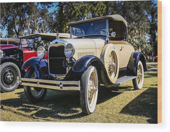 1929 Wood Print featuring the photograph Ford Model A by Chris Smith