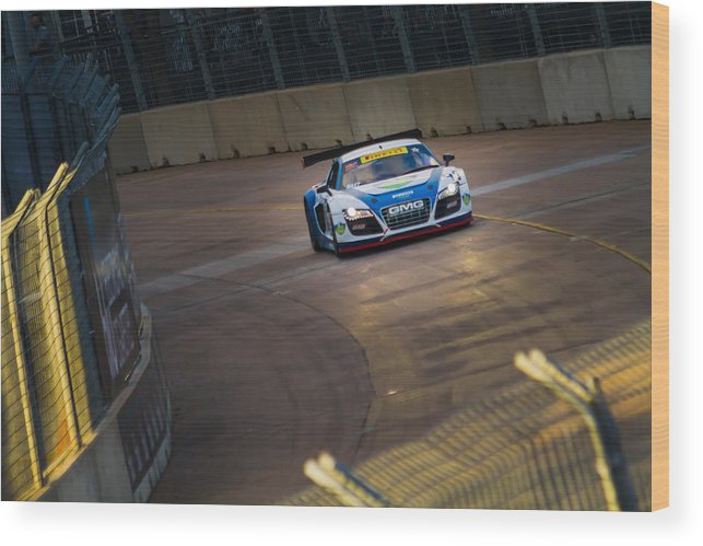 2013 Wood Print featuring the photograph Gmg R8 Lms by Tim Stanley
