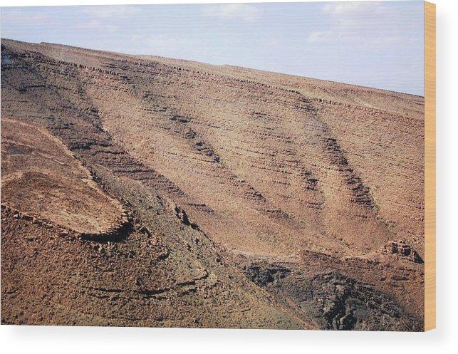 Morocco Wood Print featuring the photograph God's Fingerprint 4 by Teresa Ruiz