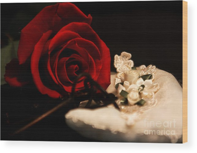 Rose Wood Print featuring the photograph Going Out by Robin Lynne Schwind