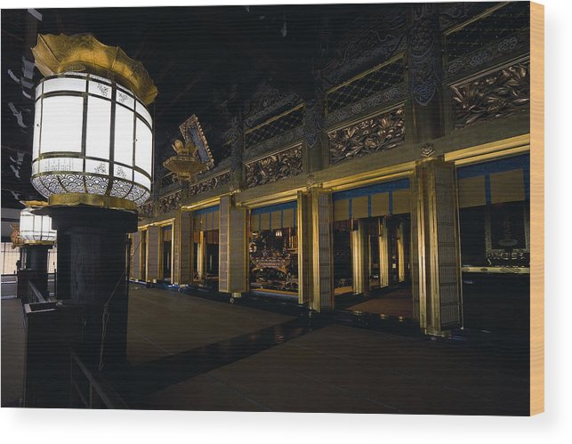 Kyoto Wood Print featuring the photograph Golden Altar Of Kyoto by Daniel Hagerman