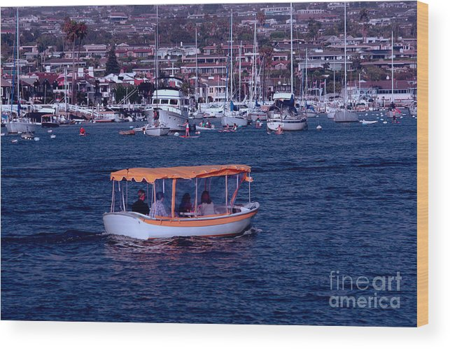 Harbor Wood Print featuring the photograph Harbor Cruisin' by Loretta Jean Photography