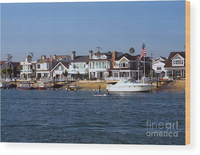 Harbor Wood Print featuring the photograph Harbor Day by Loretta Jean Photography
