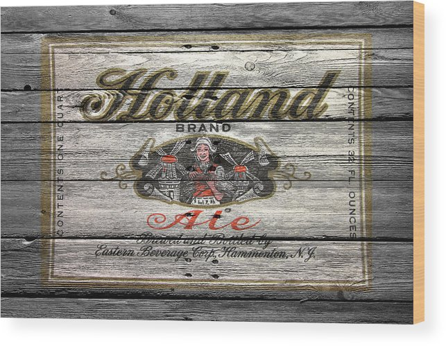 Holland Ale Wood Print featuring the photograph Holland Ale by Joe Hamilton