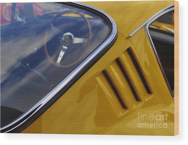 Ferrari 275 Gtb Wood Print featuring the photograph Italian Stallion by Colin Dayton Stacy