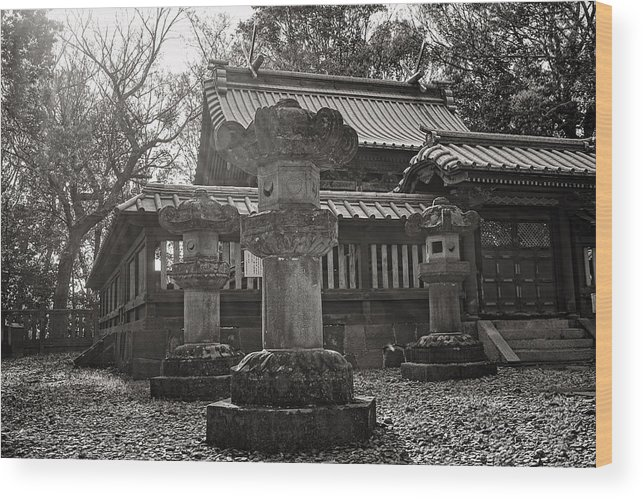 Candy Street Wood Print featuring the photograph Kita-in Temple In Kawagoe by For Ninety One Days
