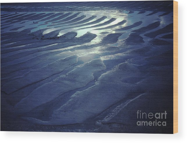 Koh Phangan Wood Print featuring the photograph Koh Phang-an Sand And Sea Serenity - Thailand by Anna Lisa Yoder