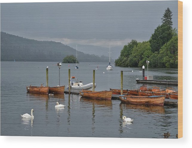 England Wood Print featuring the photograph Lake Windermere by Michael Biggs