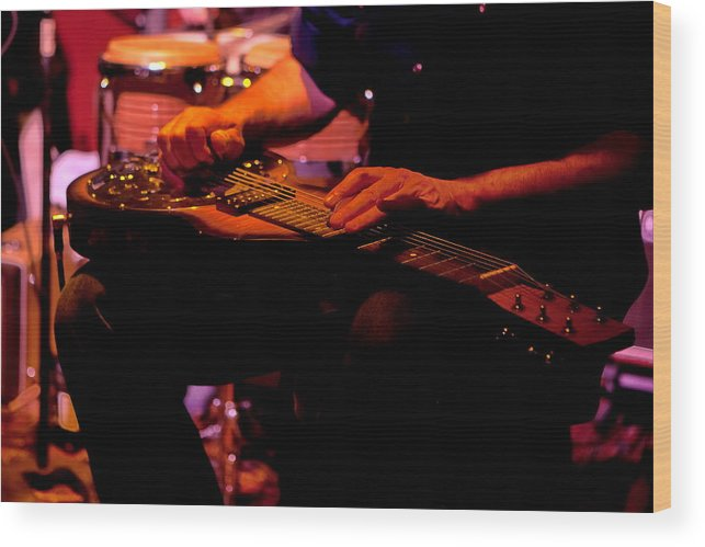 Lap Wood Print featuring the photograph Lap Steel by Leeon Photo